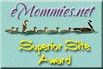 Site Award from eMommies.net